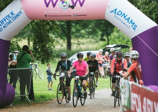 Havebury cyclists getting ready to WoW for charity
