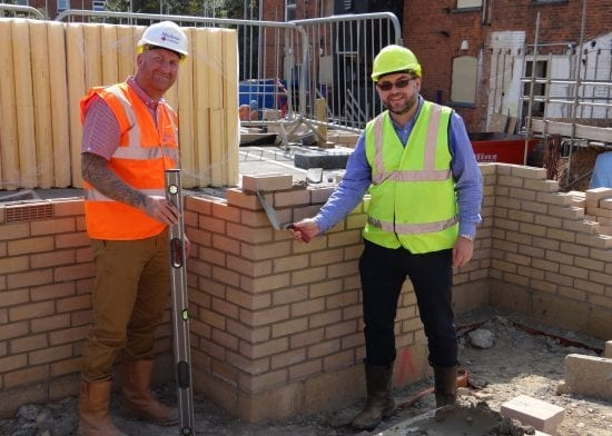 Tayfen Road: Bricklaying Starts On Social Housing Development