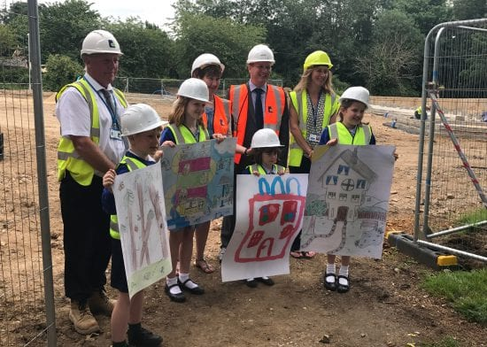 Great Whelnetham Primary School works with Havebury