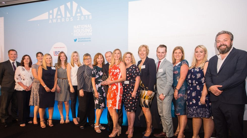 HANA Awards 2018 - Havebury Finance Team of the Year