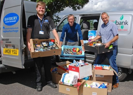 Havebury holds Summer Food Drive to support local Haverhill charity