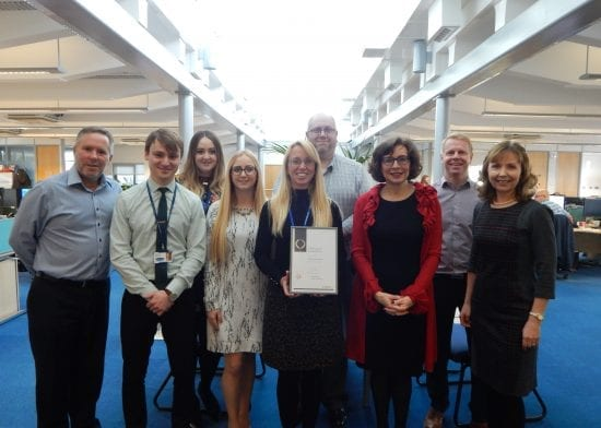 Havebury achieves investors in people silver accreditation