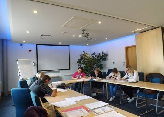 Free English lessons benefit Havebury tenants