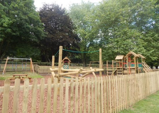 Havebury injects £5,000 into Thurlow play area renewal