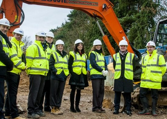 Havebury Housing Partnership and West Suffolk College building project full steam ahead!
