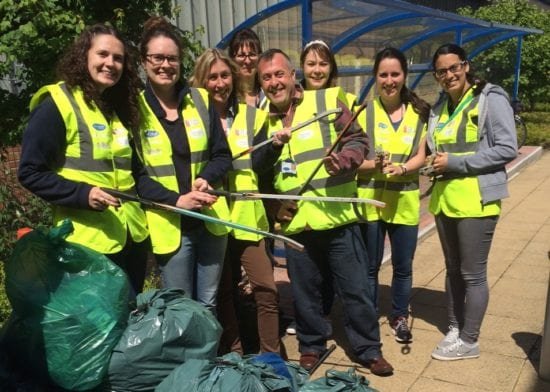 Havebury employees 'Give and Gain' within the local community