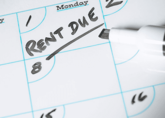 Avoid Christmas rent debt