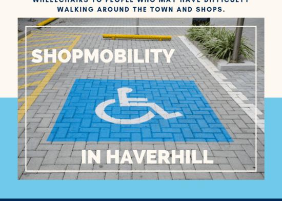 Increase your shopmobility around Haverhill