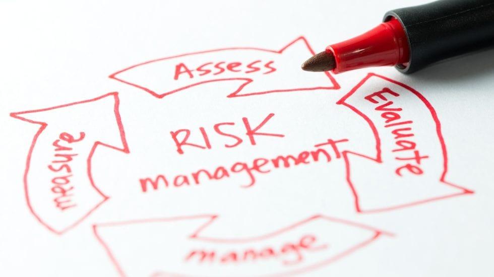 Risk management diagram