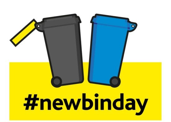 Bin day changes for West Suffolk residents!