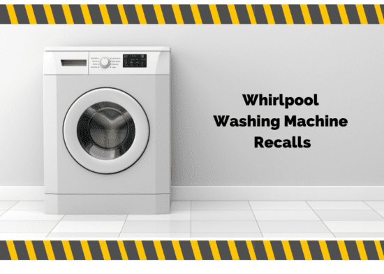 Whirlpool recalls a number of washing machines