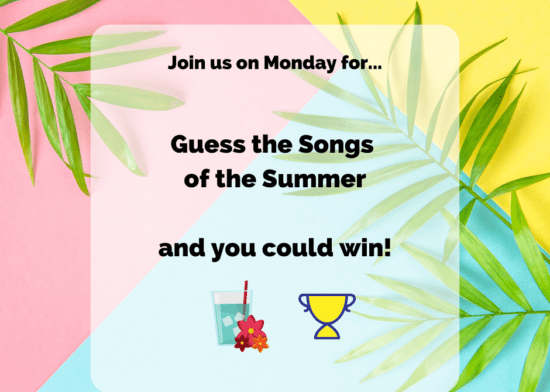 Summer Competition – Guess the sounds!