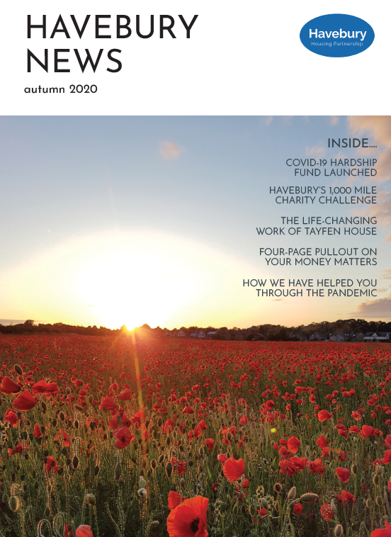 Havebury News Autumn 2020 front cover