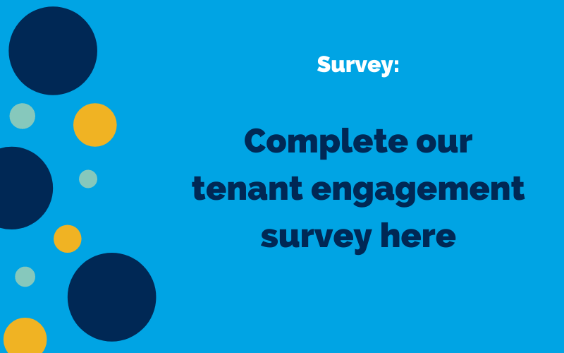 Tenant Engagement Survey graphic