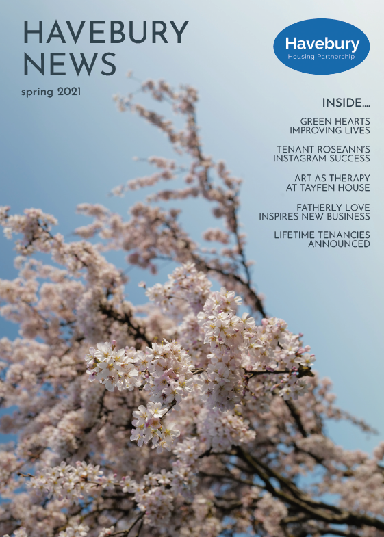Havebury News Spring 2021 Cover large
