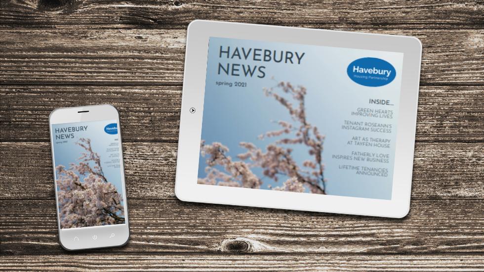 Havebury News Spring 2021 blog post image